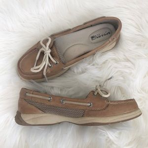 Sperry Top-Sider Laguna Linen Leather Boat Shoes